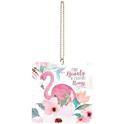 P. Graham Dunn Flamingo Beauty Car Charm