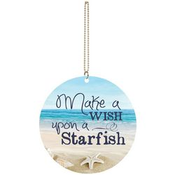 P. Graham Dunn Make A Wish Upon A Starfish Car Charm