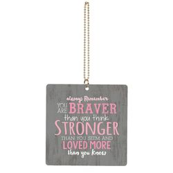 P. Graham Dunn Braver Car Charm