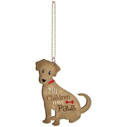 P. Graham Dunn My Children Have Paws Dog Car Charm