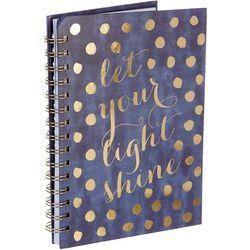Tri Coastal Let Your Light Shine Spiral Notebook