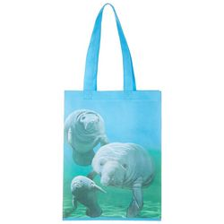 Gwen's Nest Manatee Shopping Bag