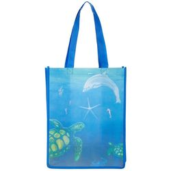 Belvedere Stationers Sea Life Shopping Bag