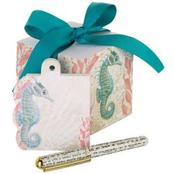 Lady Jayne Ltd. Seahorse Writing Block & Pen Set