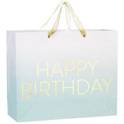 CR Gibson Ombre Happy Birthday Large Gift Bag