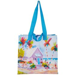 Ellen Negley Dog Beach Afternoon Reusable Shopping Bag