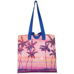 Ellen Negley Shaded Sunsets Reusable Shopping Bag