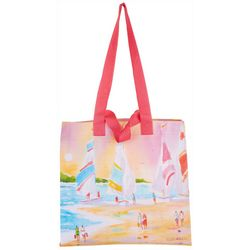 Ellen Negley Up With The Sun Reusable Shopping Bag