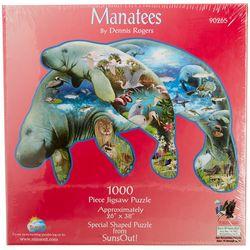 SunsOut Manatees 1,000 Piece Puzzle