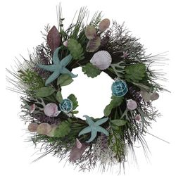 Coastal Home 22'' Shell Wreath