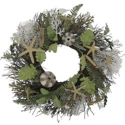 Coastal Home 22'' Starfish Wreath