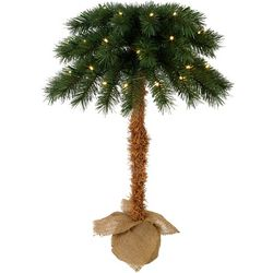 Palm Island Home 2'  Pre-Lit Palm Tree