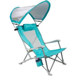 GCI Foldable Recliner Chair With Shade