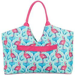 Tackle & Tides Flamingo Trellis Ultimate Bag