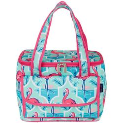Tackle & Tides Flamingo Trellis 16 Can Cooler Tote