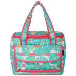 Tackle & Tides Palm Leaves 16 Can Cooler Tote