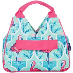 Tackle & Tides Flamingo Trellis Insulated Lunch Tote