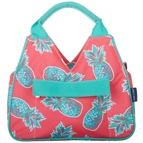 7bf6f159aacb Tackle & Tides Pineapple Insulated Lunch Tote