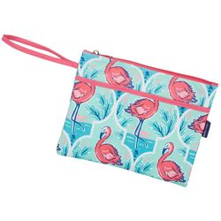 Tackle & Tides Flamingo Trellis Swim Sack