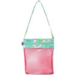 Tackle & Tides Palm Leaves Mesh Shell Bag