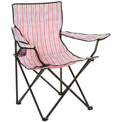 Tropix Blue Stripe Quad Chair