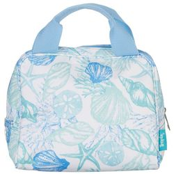 Tropix Tossed Shells Insulated Lunch Tote