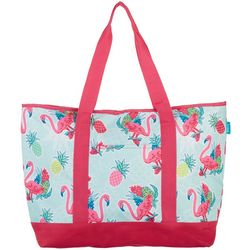 Tropix Flamingo Pineapple Cooler Tote
