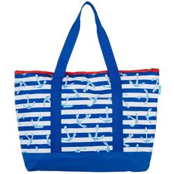 Tropix Anchor Stripe Cooler Tote