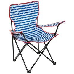 Tropix Stripe Anchor Quad Chair