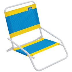 Rio Brands 1 Position Stripe Beach Chair