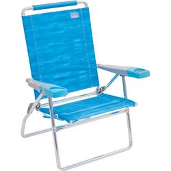 Rio Brands 4 Position Watercolor Beach Chair
