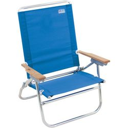 Rio Solid 4 Position Easy In Easy Out Beach Chair