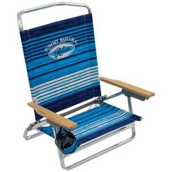 Tommy Bahama Stripe 5-Position Low Beach Chair