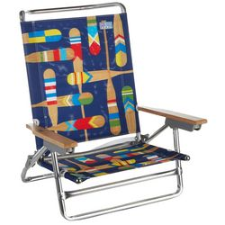 Rio Brands 5 Position Paddles Beach Chair