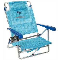 Tommy Bahama Blue Diamond 5-position Backpack Chair