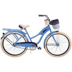 Huffy Womens Deluxe Beach Cruiser Bicycle