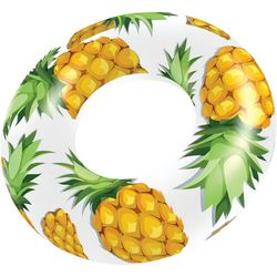 Pool Candy Clear Pineapple 48 Inch Pool Tube