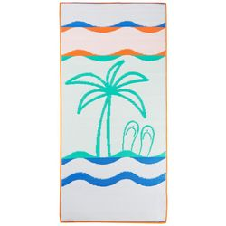 JGR Copa Palm Tree Tatami Style Beach Mat
