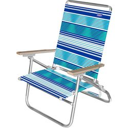 JGR Copa 3-Position Stripe Beach Chair