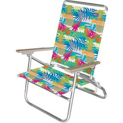 JGR Copa 3-Position Tropical Stripe Beach Chair