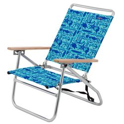 JGR Copa 3-Position Sealife Beach Chair
