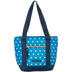 Arctic Zone Dabney Lee Polka Dot 8 Can Insulated Tote