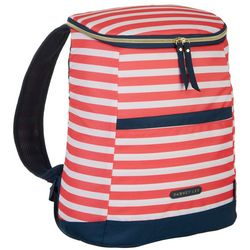 Arctic Zone Dabney Lee Striped 18 Can Backpack Cooler