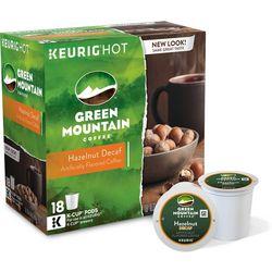 Keurig K-Cup Green Mountain Hazelnut Decaf- 18-pk.