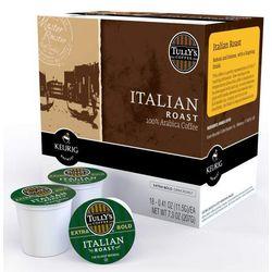 Keurig K-Cup Tullys Italian Roast Coffee 18-pk.