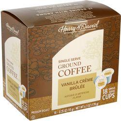 Harry & David Vanilla Creme Brulee Coffee K-Cups 18-pk.