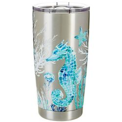 Coastal Home 20 oz. Stainless Steel Sea Venture Tumbler