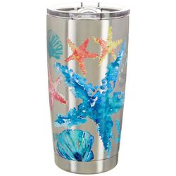 Coastal Home 20 oz. Stainless Steel Aquatica Tumbler