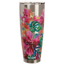 Reel Legends 30 oz. Stainless Steel Floral Tumbler