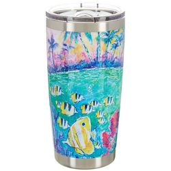 Leoma Lovegrove 20 oz. Stainless Steel Spring Break Tumbler